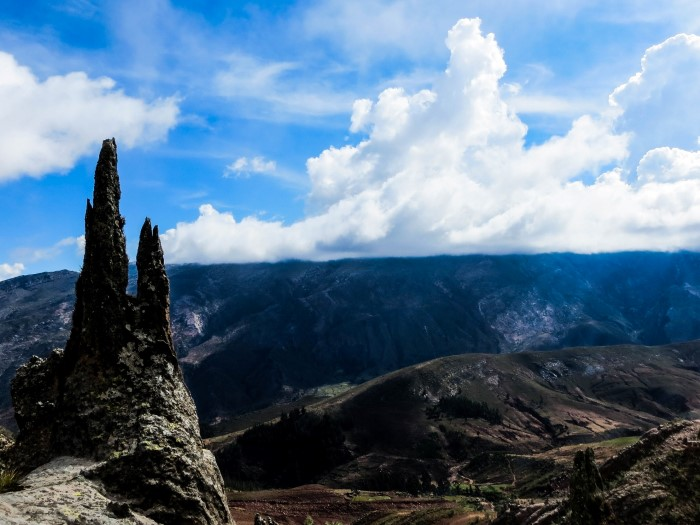 hiking to the Maragua Crater Sucre Bolivia