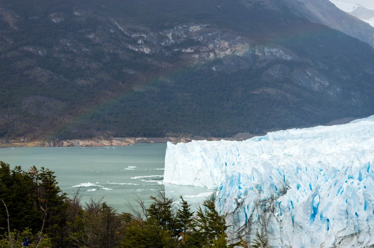 The Perito Moreno Glacier near El Calafate, Patagonia.