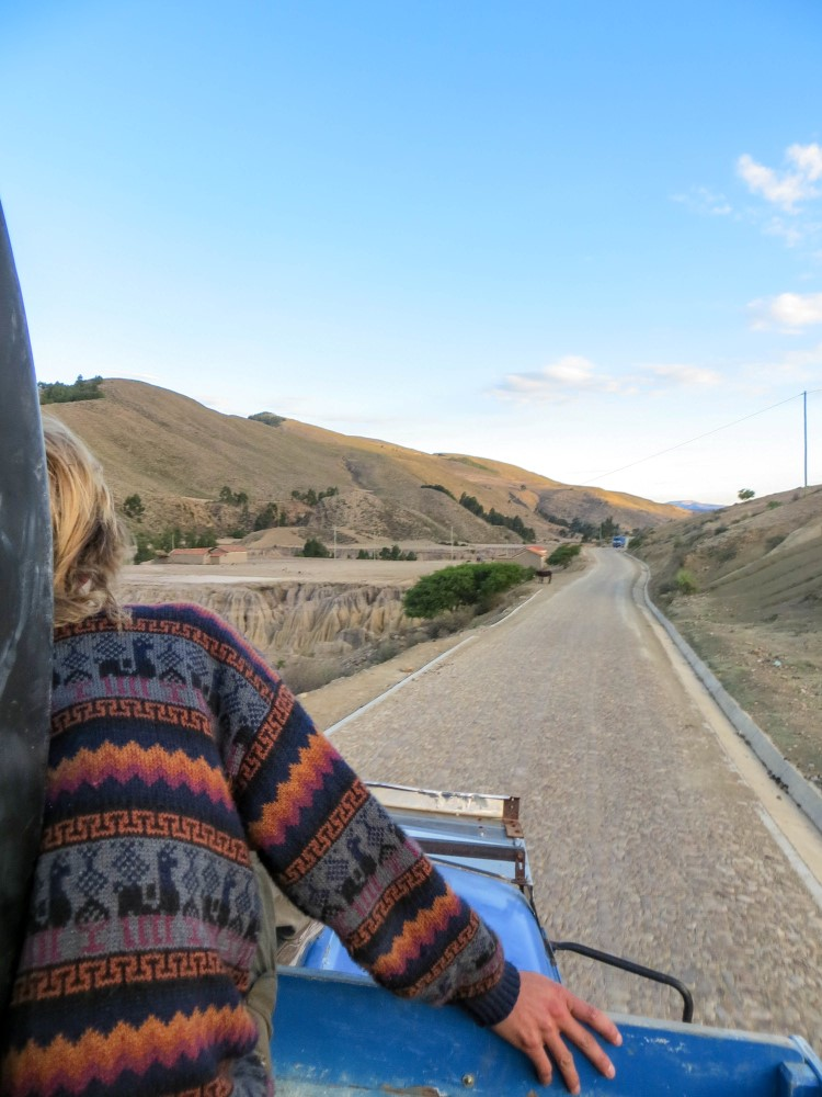tips for hitchhiking in South America