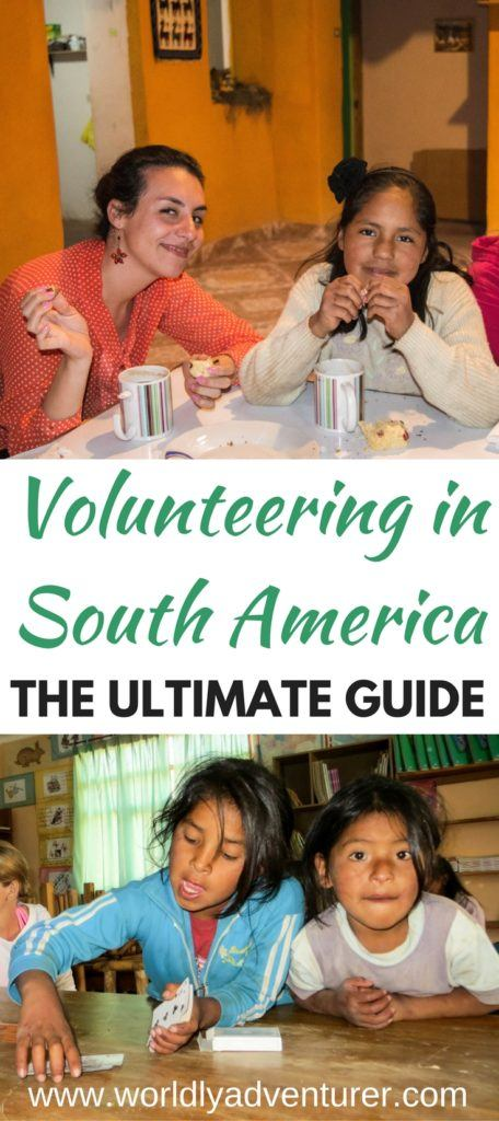 Want to volunteer in South America but not sure where to start? This ultimate guide has information about different South American countries, volunteering programs, how to evaluate your skill-set, whether you should pay to volunteer and how long you need to commit.
