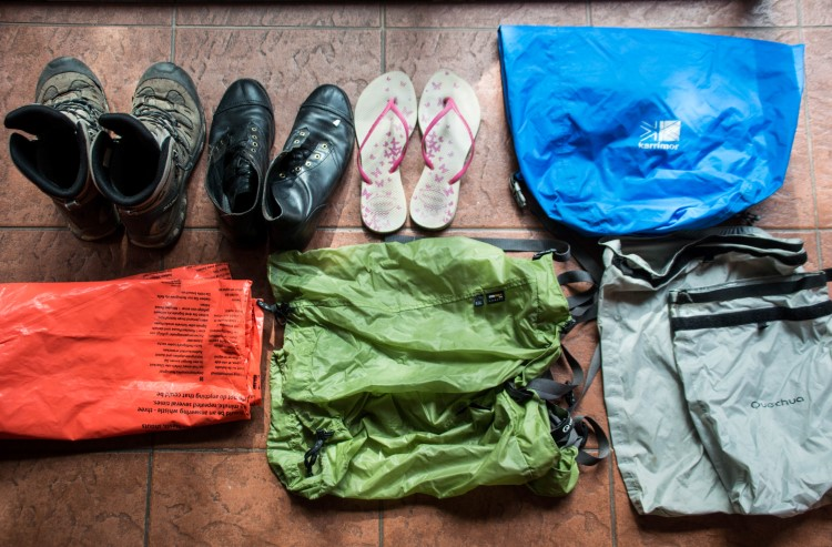 Patagonia packing list