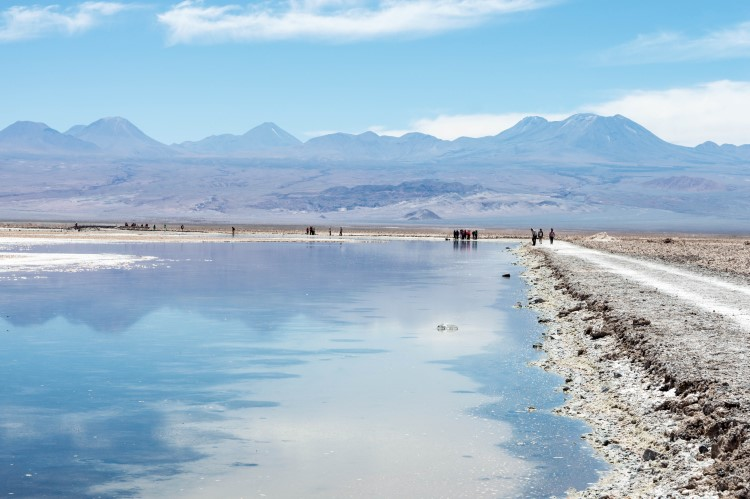 Laguna Chaza near San Pedro de Atamaca, Chile