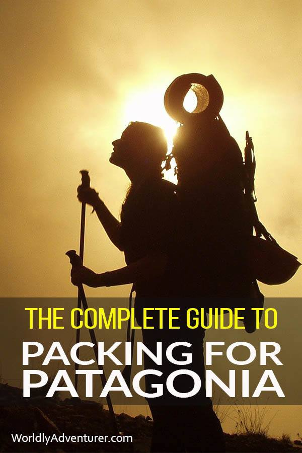 Get prepared for you Patagonia travel adventure with this comprehensive trip packing list, helping you prepare to visit both sides of Patagonia: Chile and Argentina. Includes recommendations for bags, hiking clothing and outfit suggestions.