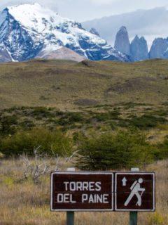 hiking the torres del paine circuit Patagonia