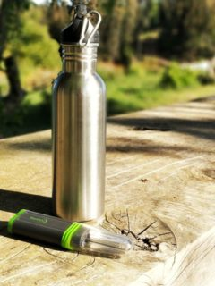 Image of the steripen adventurer, the best backpacking water filter steripen reviews