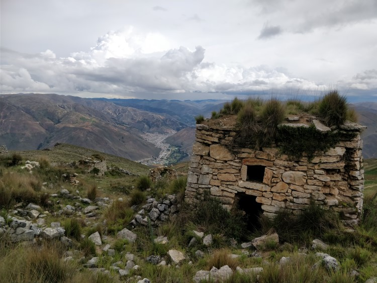 backpacking in northern Peru