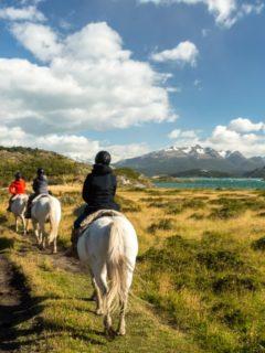 horse riding Patagonia Estancia La Peninsula