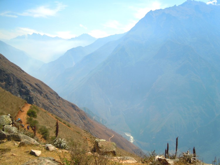 Along the Choquequirao trail in the Apurimac Valley, Peru.