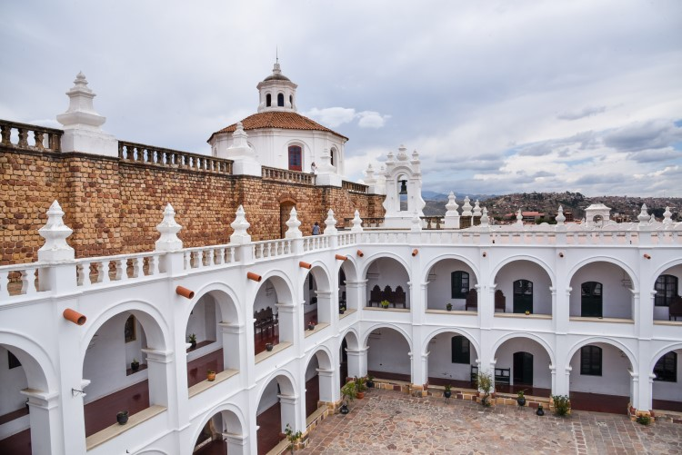 Sucre, aka the White City, is renowned for its beautiful colonial architecture making it an unmissable Bolivia tourist attraction.