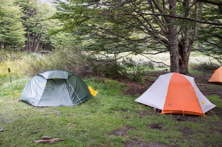 Camping Los Perros, the O Circuit, Torres del Paine National Park.