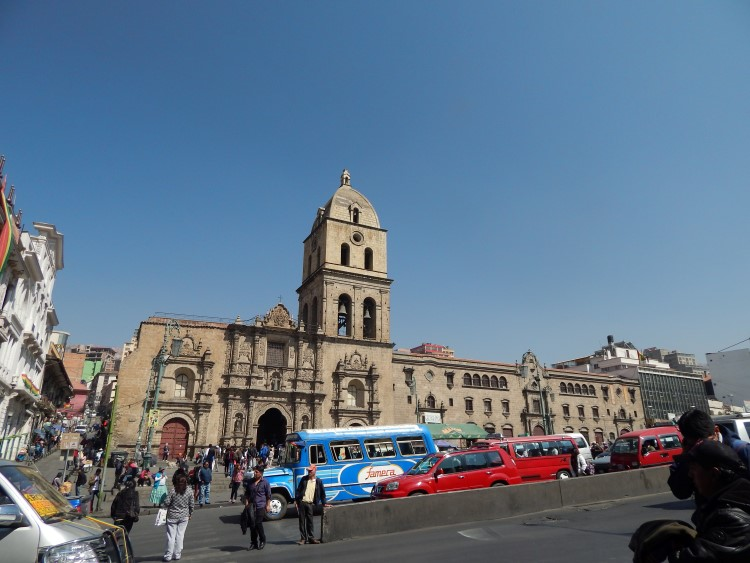 Transport in La Paz; it's essential to know how to take public transport when travelling in Bolivia.