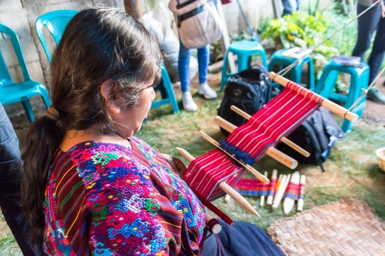 A visit to the weaving community of Santo Domingo Xenacoj is a must on any list of what to do in Guatemala, thanks to its focus on community-led and sustainable tourism.