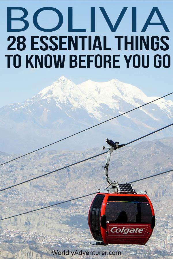 Get advice on public transport, packing suggestions and invaluable tips on staying safe with this comprehensive guide to things to know before traveling in Bolivia, written by a local expert. #boliviatravel #safetravel #southamericatravel #travelguide #adventuretravel