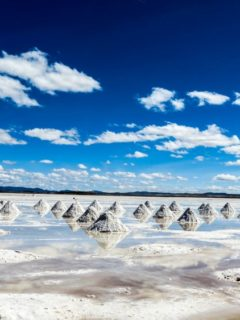 The Bolivian salt flats or salar de Uyuni, an unmissable destination to visit when traveling Bolivia