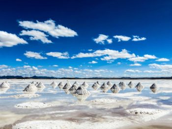 The Bolivian salt flats or El Salar de Uyuni and an unmissable Bolivian travel destination