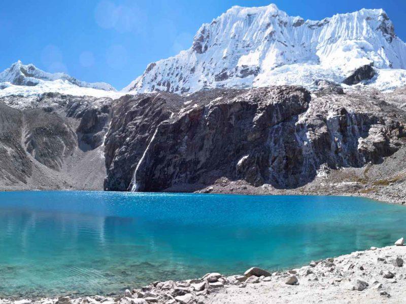 Laguna 69 near Huaraz in Peru