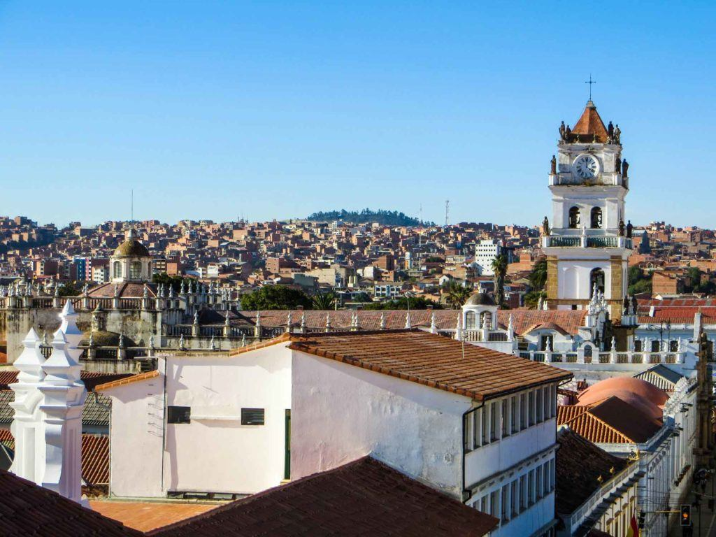 Bolivia Sucre Rooftops