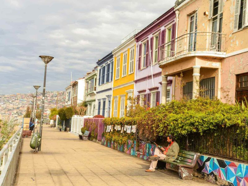Things to do in Valparaíso Colorful Streets