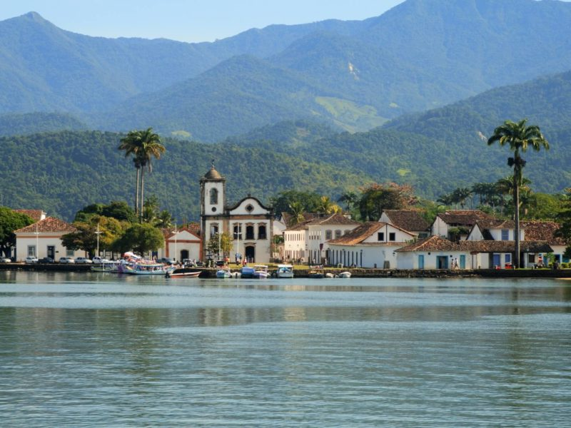 South America the Coastal Town of Paraty