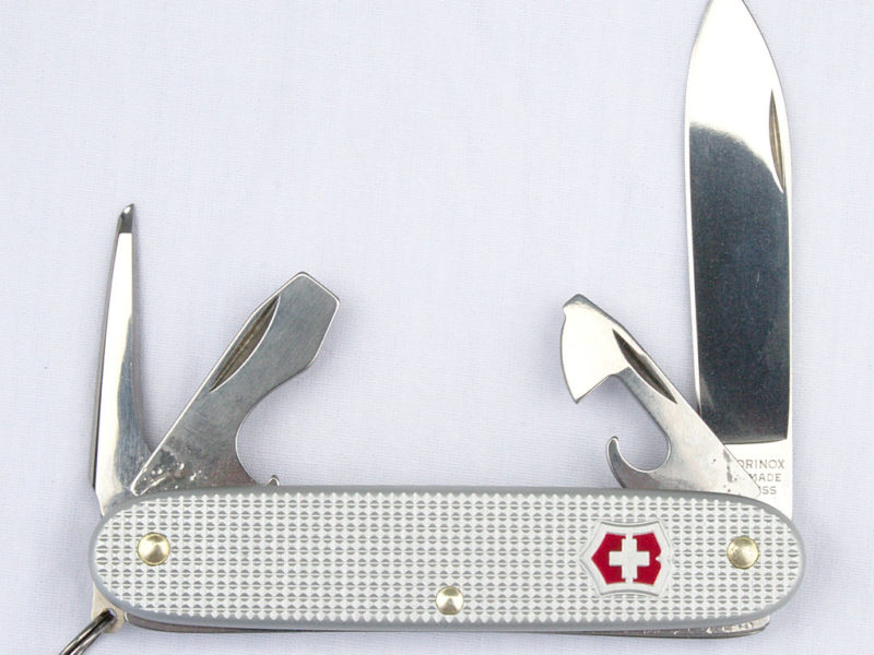 Grey swiss army knife