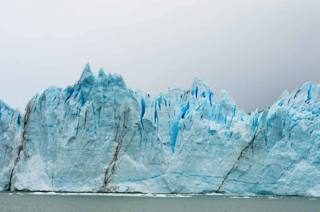 One of the best glaciers to see is the Perito Moreno Glacier in Patagonia