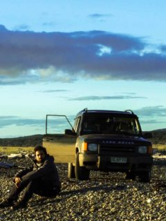 A four-wheel vehicle is necessary for driving in Patagonia as the roads can be in poor repair