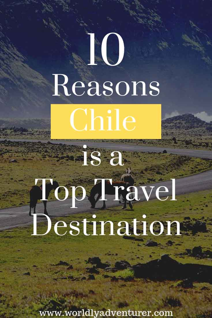 Home to superlative, high-altitude landscapes, ancient sites and remote, untouched wilderness, Chile is a must-visit place to travel to in 2020. #southamerica #travel #Chile #adventure