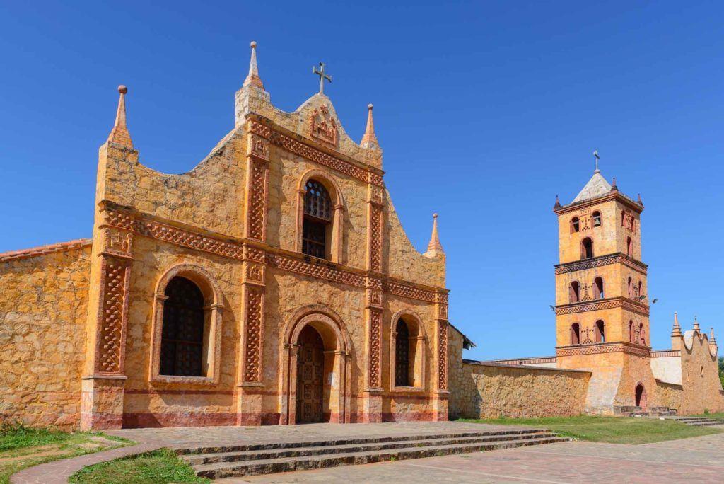 San Jose de Chinquitos Jesuit Mission in Bolivia
